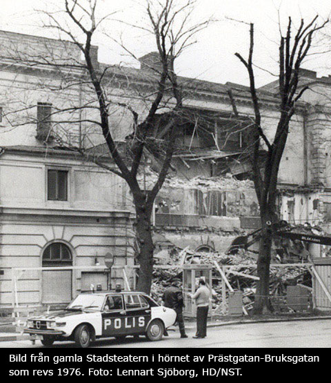 Stadsteaterns historia