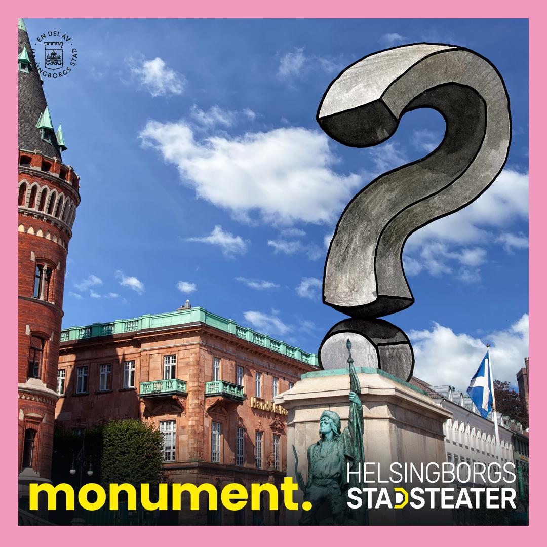 Få besök av monument